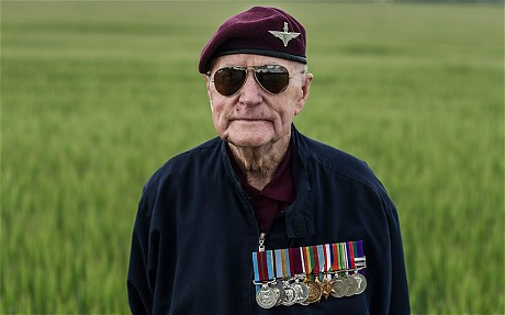 D-Day parachute jump: 89-year-old perfects Normandy landing - Telegraph