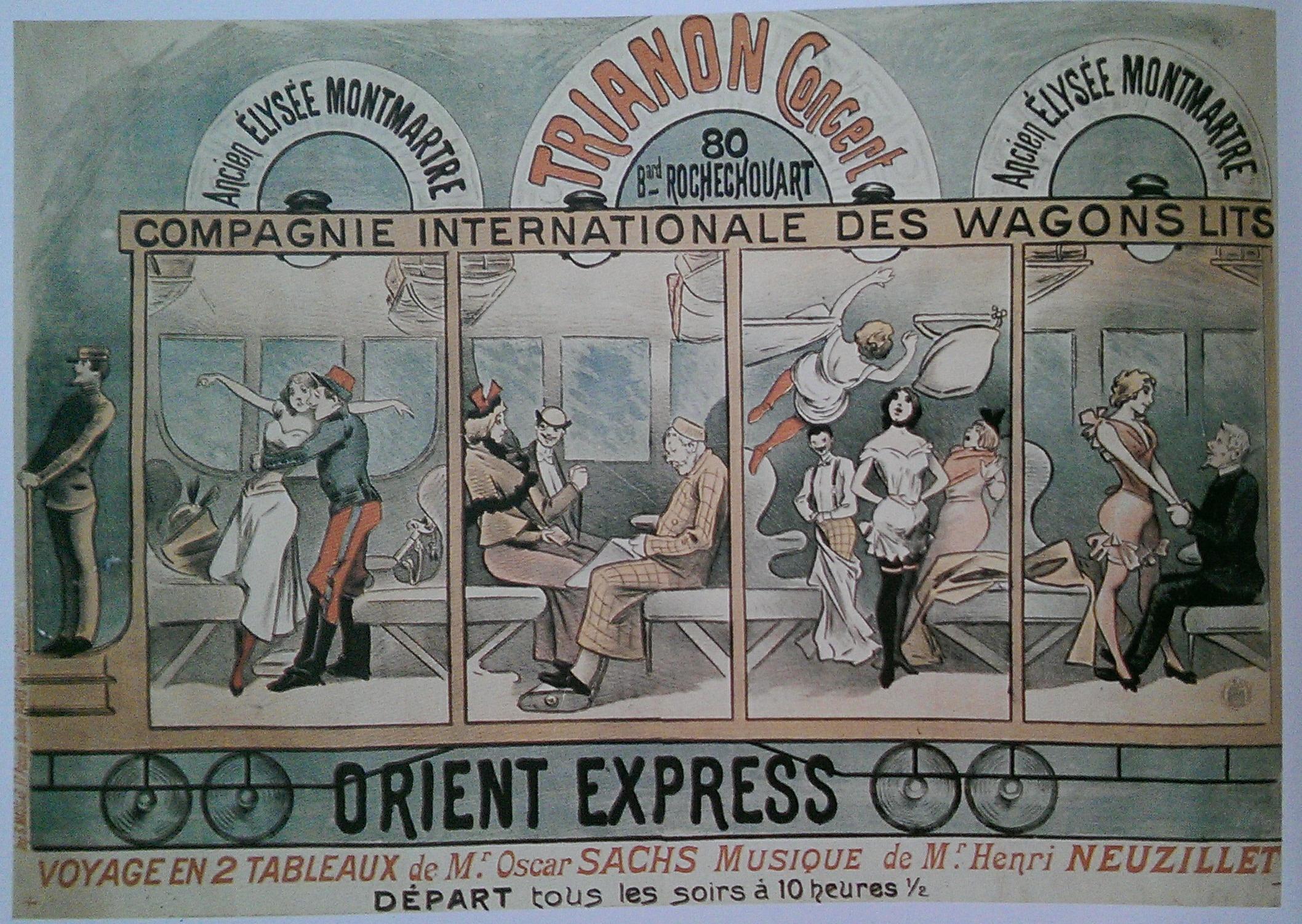 La compagnie des wagon lits postcards - Compagnie des wagons lits recrutement ...