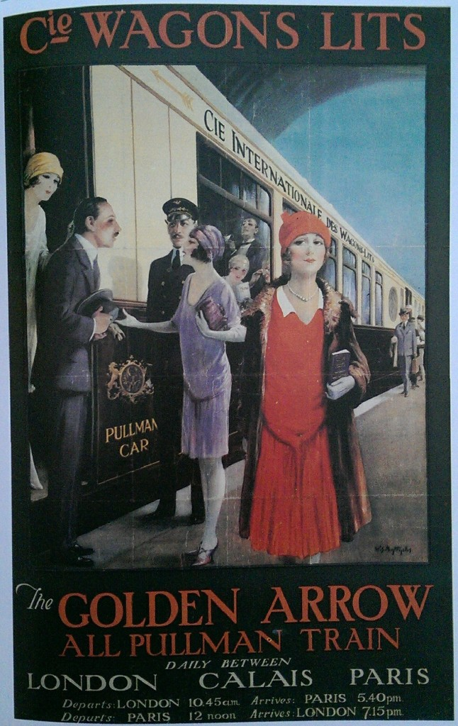 Wagon-lits Poster
