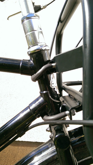Pashley - Front Carrier detail