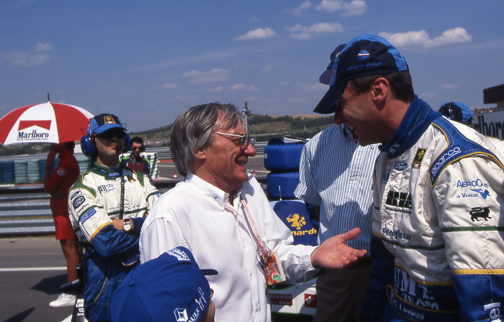 Bernie Ecclestone, Hungaroring 1996 / f1-history.deviantart.com