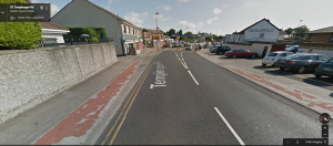 Google Street View of Templeogue village, Aug 2014 imagery