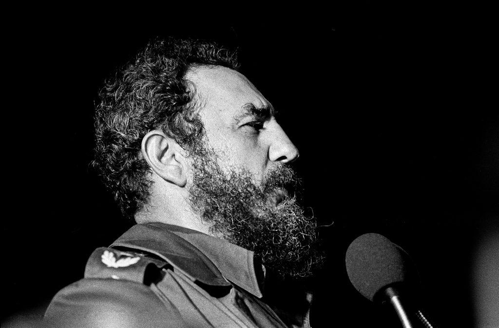 Fidel Castro, Havana, 1978 - Marcelo Montecino/Flickr